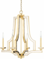 Capital Lighting 423041CG Abella Contemporary Capital Gold Chandelier Light