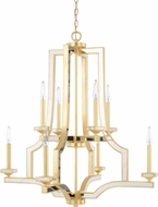 Capital Lighting 423081CG Abella Modern Capital Gold Chandelier Lighting