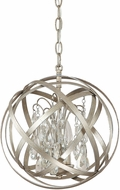 Capital Lighting 4233WG-CR Axis Winter Gold Pendant Lamp