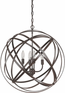 Capital Lighting 4234RS Axis Contemporary Russet Hanging Lamp