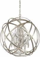 Capital Lighting 4234WG-CR Axis Winter Gold Pendant Lighting Fixture