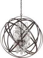 Capital Lighting 4236RS-CR Axis Russet Hanging Pendant Light
