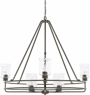 Capital Lighting 425082FH-444 Bristol Contemporary Farm House Ceiling Chandelier