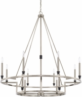 Capital Lighting 425201BT Tux Modern Black Tie Chandelier Lighting