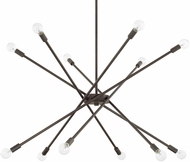 Capital Lighting 425601NG Modern Nordic Grey Ceiling Chandelier