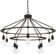Capital Lighting 425603BI Contemporary Black Iron Chandelier Lighting