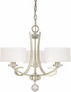 Capital Lighting 4263WG-552 Hutton Winter Gold Mini Hanging Chandelier