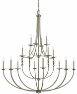 Capital Lighting 427902AN Wallace Contemporary Antique Nickel Lighting Chandelier
