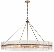 Capital Lighting 431181AD Drew Modern Aged Brass 46  Lighting Chandelier