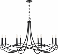 Capital Lighting 431681MB Sonnet Modern Matte Black Hanging Chandelier