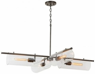 Capital Lighting 432941AN Webster Contemporary Antique Nickel Chandelier Light