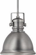 Capital Lighting 4431AN Contemporary Antique Nickel Mini Pendant Light Fixture