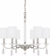 Capital Lighting 4485PN-573-CR Alisa Polished Nickel Chandelier Lighting