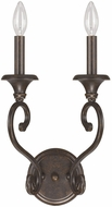 Capital Lighting 4531CB-000 Maxwell Chesterfield Brown Wall Sconce