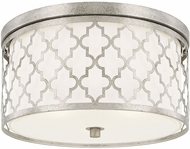 Capital Lighting 4549AS Ellis Antique Silver Ceiling Lighting Fixture