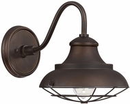 Capital Lighting 4561BB Nautical Burnished Bronze Outdoor Sconce Lighting