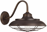 Capital Lighting 4562BB Nautical Burnished Bronze Exterior Light Sconce