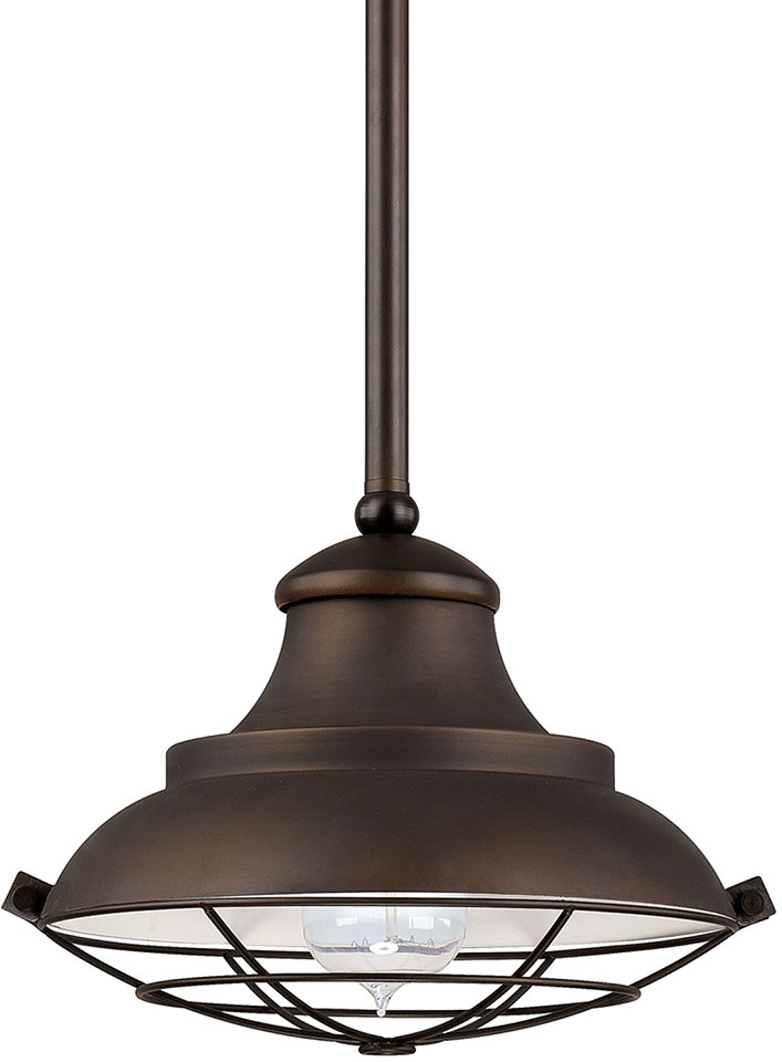 Capital Lighting 4567BB Nautical Burnished Bronze Mini Hanging Light ...