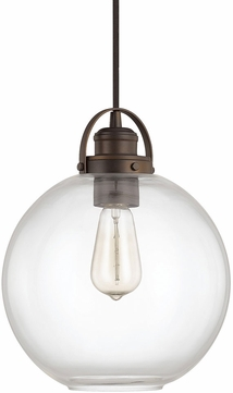 Capital Lighting 4641BB-136 Burnished Bronze Mini Pendant Lamp