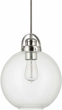 Capital Lighting 4641PN-136 Polished Nickel Mini Hanging Light