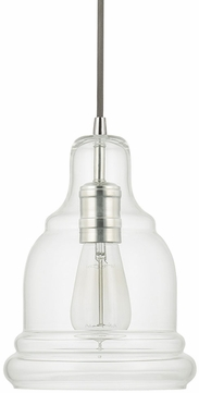 Capital Lighting 4643PN-138 Polished Nickel Mini Pendant Hanging Light