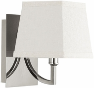 Capital Lighting 4651PN-604 Parker Contemporary Polished Nickel Wall Sconce Lighting