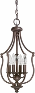 Capital Lighting 4704BB Leigh Burnished Bronze Foyer Light Fixture