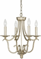 Capital Lighting 4724WG-000 Bailey Winter Gold Mini Ceiling Chandelier