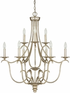 Capital Lighting 4729WG-000 Bailey Winter Gold Chandelier Light