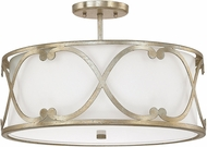 Capital Lighting 4743WG-610 Alexander Winter Gold Semi-Flush Flush Mount Light Fixture