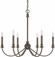 Capital Lighting 4746BB-000 Alexander Burnished Bronze Chandelier Light