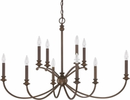 Capital Lighting 4748BB-000 Alexander Burnished Bronze Chandelier Light