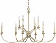 Capital Lighting 4748WG-000 Alexander Winter Gold Ceiling Chandelier