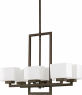 Capital Lighting 4756BB-155 Tahoe Modern Burnished Bronze Chandelier Lighting