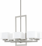 Capital Lighting 4756BN-155 Tahoe Contemporary Brushed Nickel Lighting Chandelier