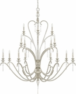 Capital Lighting 4780AS-000 Celine Antique Silver Chandelier Lamp