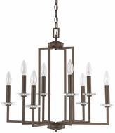 Capital Lighting 4817BB Morgan Burnished Bronze Chandelier Lighting