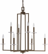 Capital Lighting 4818BB Morgan Burnished Bronze Chandelier Lamp