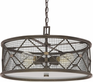 Capital Lighting 4894OR Jackson Contemporary Oil Rubbed Bronze Hanging Lamp
