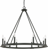 Capital Lighting 4918BI-000 Pearson Modern Black Iron Chandelier Lighting