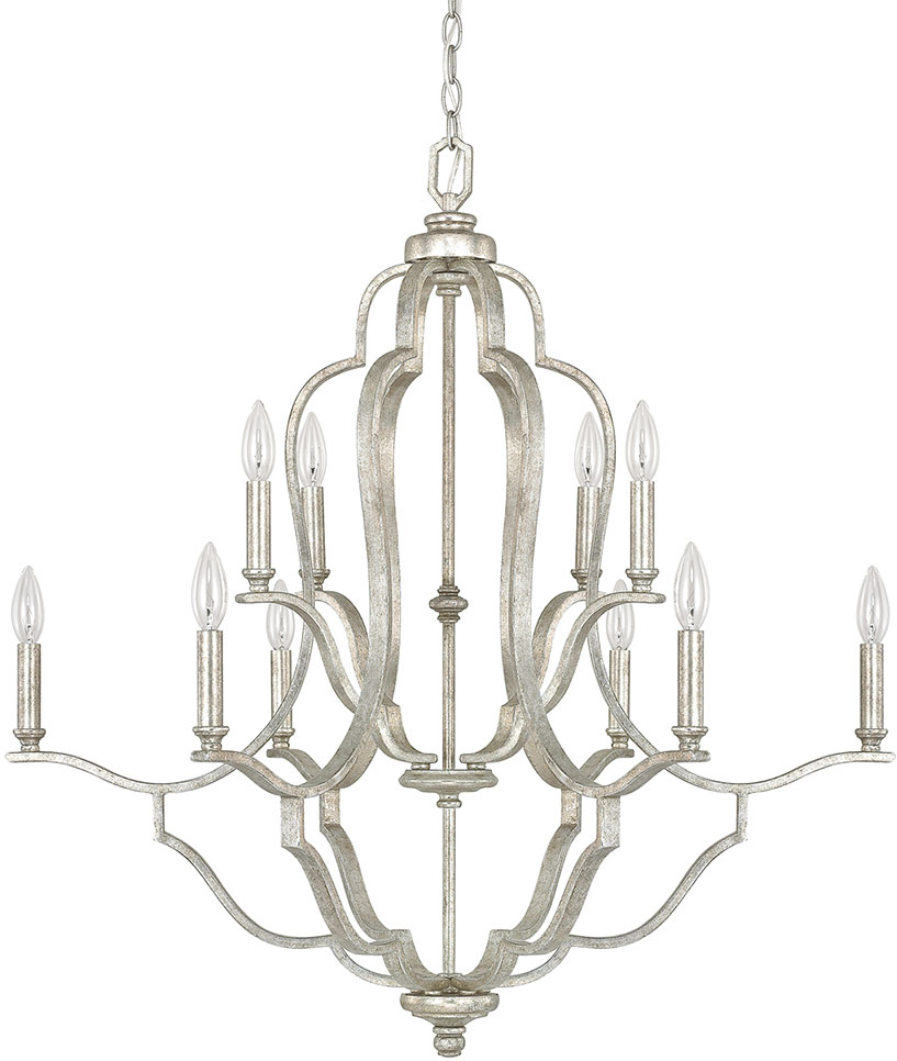 Capital Lighting 4940AS-000 Blair Contemporary Antique Silver Chandelier  Lamp. Loading zoom - Capital Lighting 4940AS-000 Blair Contemporary Antique Silver