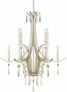 Capital Lighting 4960WG-000 Berkeley Winter Gold Hanging Chandelier