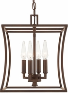 Capital Lighting 510141BB Westbrook Contemporary Burnished Bronze Foyer Light Fixture