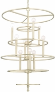 Capital Lighting 510491SF Aurora Modern Soft Gold Hanging Chandelier