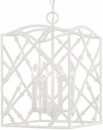 Capital Lighting 510541GW Foyers Contemporary Glossy White Foyer Light Fixture