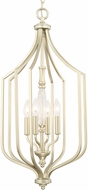 Capital Lighting 510841SF Seaton Contemporary Soft Gold Foyer Light Fixture