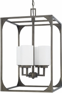 Capital Lighting 511041GM-316 Flynn Contemporary Gunmetal Entryway Light Fixture