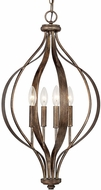 Capital Lighting 511641RT Rowan Rustic Foyer Light Fixture