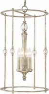 Capital Lighting 511741GS Carlyle Gilded Silver Foyer Lighting Fixture