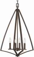 Capital Lighting 512341BB Boden Modern Burnished Bronze Entryway Light Fixture